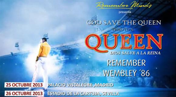 God Save the Queen, el mejor tributo del mundo a Queen  Gira