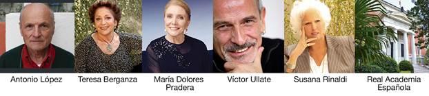 Miembros de Honor del Claustro Universitario de las Artes